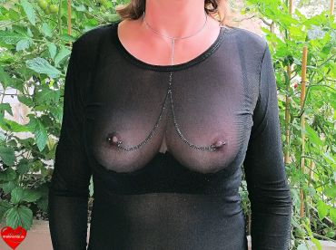 Nipple necklace
