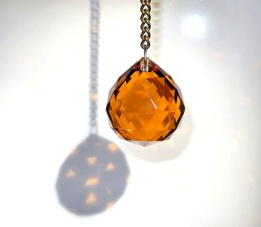 Crystal pendant Ultimate, amber