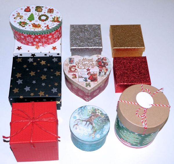 Christmas wrappings - gift wrap